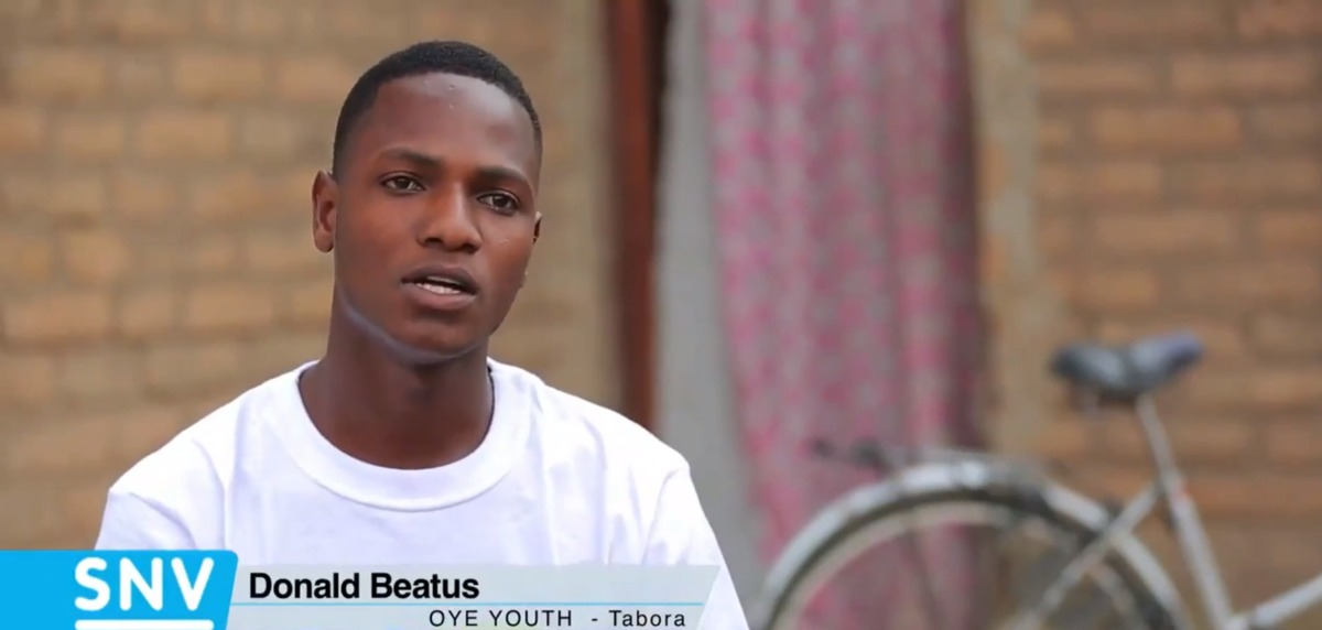 """Before the OYE project, I used to live a very poor life""-Donald Beatus"