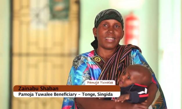 """Mradi wa """"pamoja tuwalee"""" unavyonufaisha akina mama Singida."""